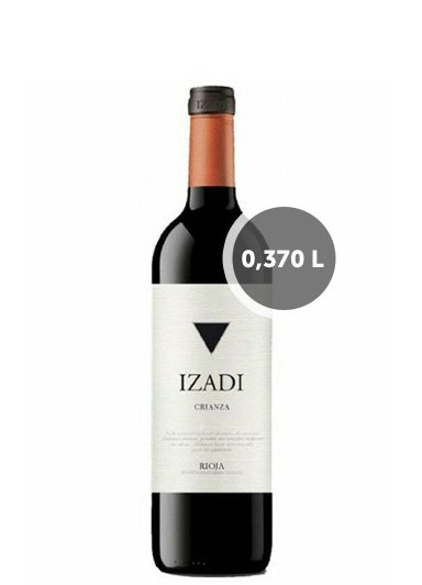 Vino Izadi Tinto Crianza (0,370L.)