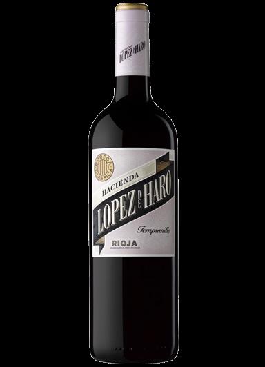 Vino Hacienda López de Haro Tempranillo