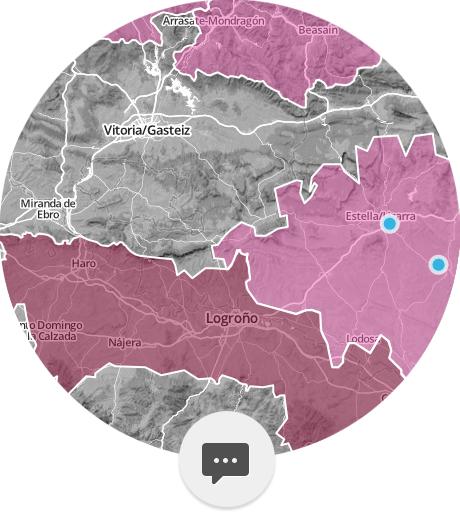El mapa del vino