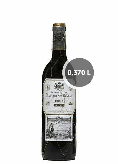 Vino Marqués de Riscal Reserva (0,370L.)